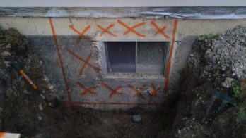 For residential applications, we can help cut out a whole in the wall for you egress window basement installation! We can cut your window to the exact dimensions you need with no over cuts into your foundation. Egress windows increase the safety and also increase the value of your home by adding safety conforming bedrooms, protecting your family from extreme emergencies.